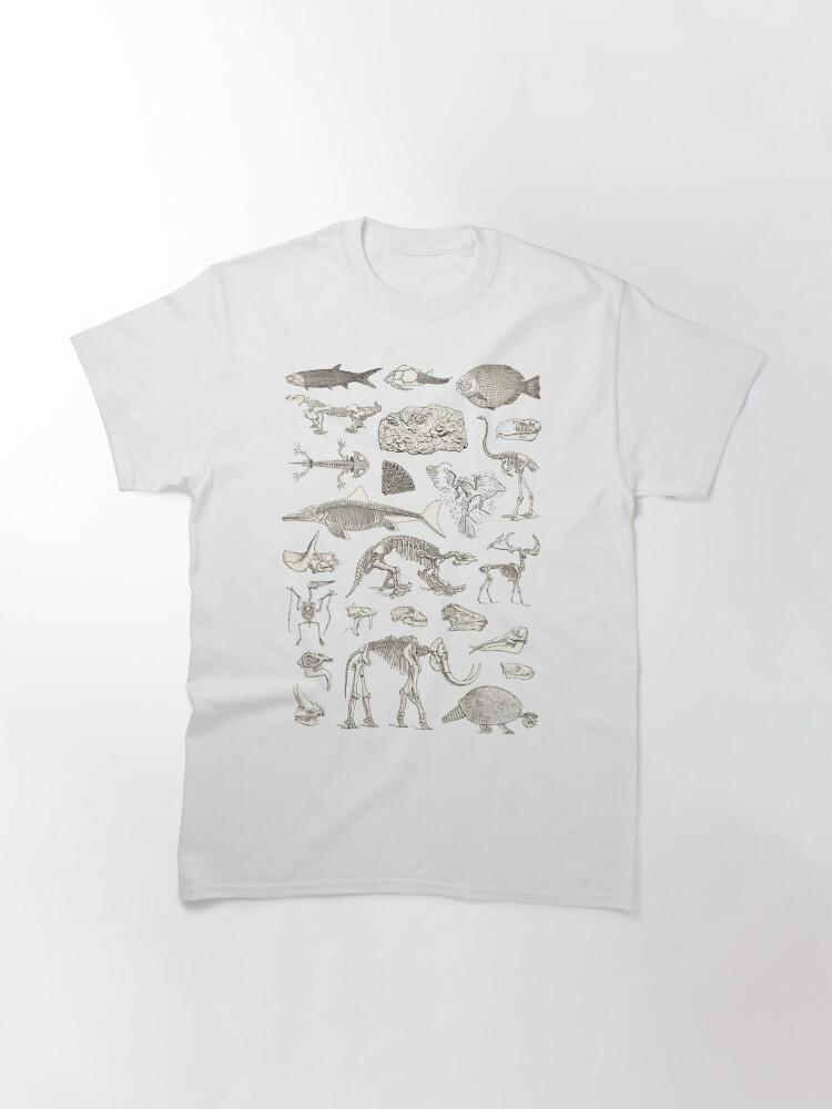 Alternate view of Paleontology Illustration Classic T-Shirt