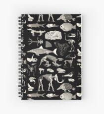 Paleontology Illustration Spiral Notebook