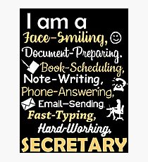 SECRETARY Photographic Print