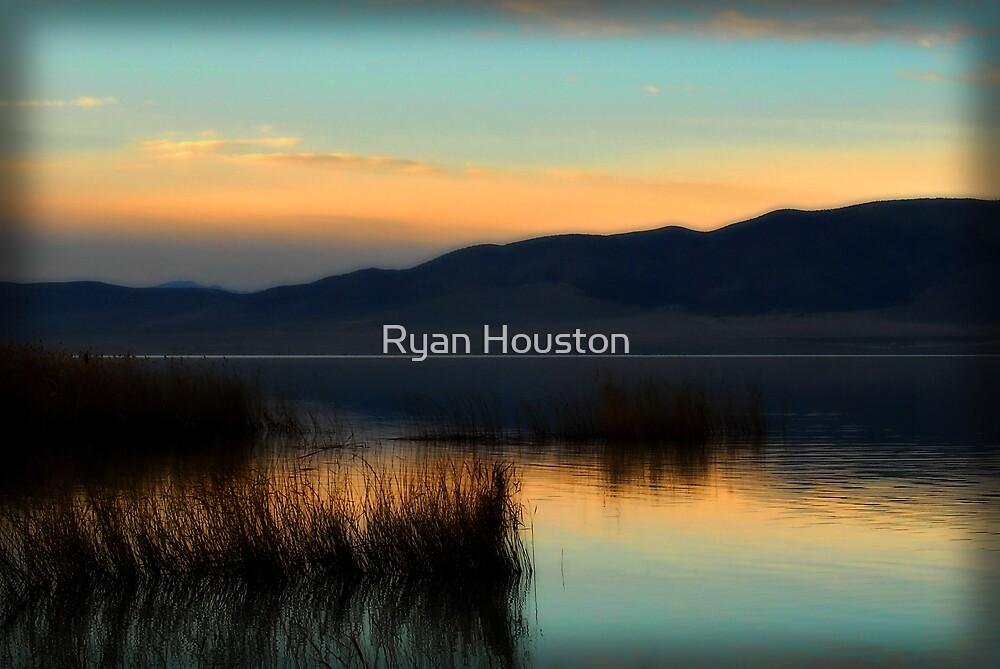Utah Lake Sunset by Ryan Houston