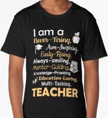 TEACHER Long T-Shirt