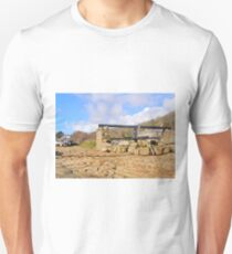 Penberth Capstan And Boats Unisex T-Shirt