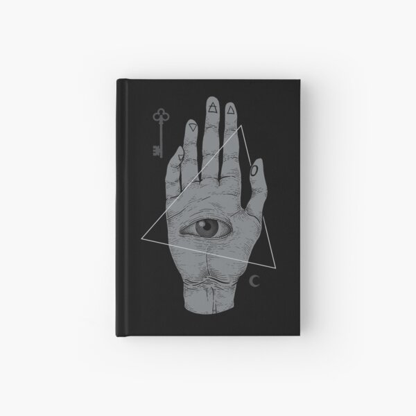 Witch Hand Hardcover Journal