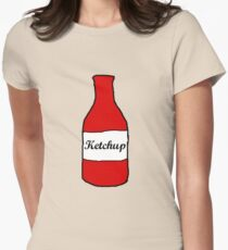 Tomato Ketchup Womens Fitted T-Shirt