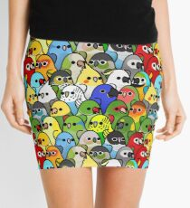Too Many Birds! Bird Squad 1 Mini Skirt