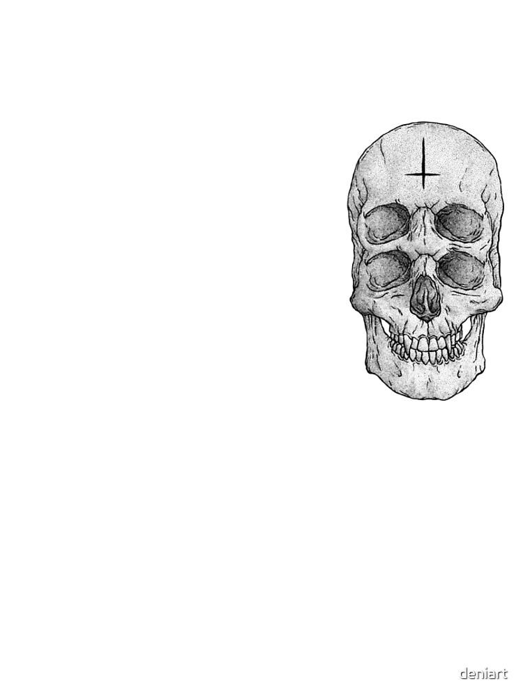 Skull II by deniart