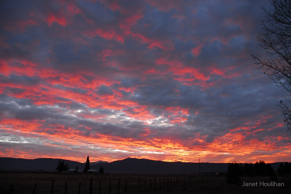 Idaho Sunset by Janet Houlihan