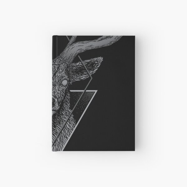 Dark Deer Hardcover Journal