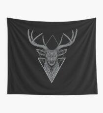 Dark Deer Wall Tapestry
