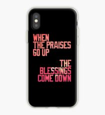 BLESSINGS. iPhone Case
