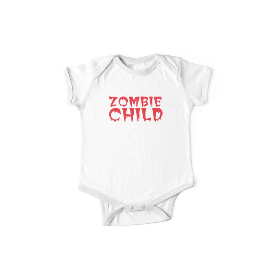 Zombie child in cool dripping font by jazzydevil