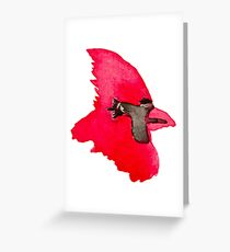 Cardinal - Watercolor  Greeting Card
