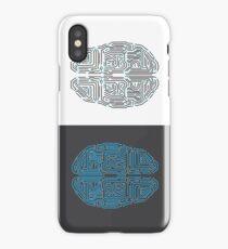 Semi-Cybernetic Brain iPhone Case/Skin