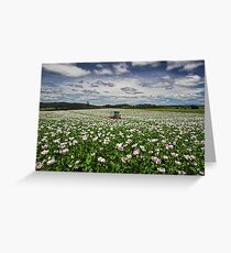 The Tractor Greeting Card