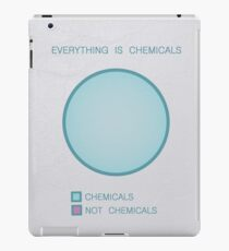 Everything is chemicals iPad Case/Skin