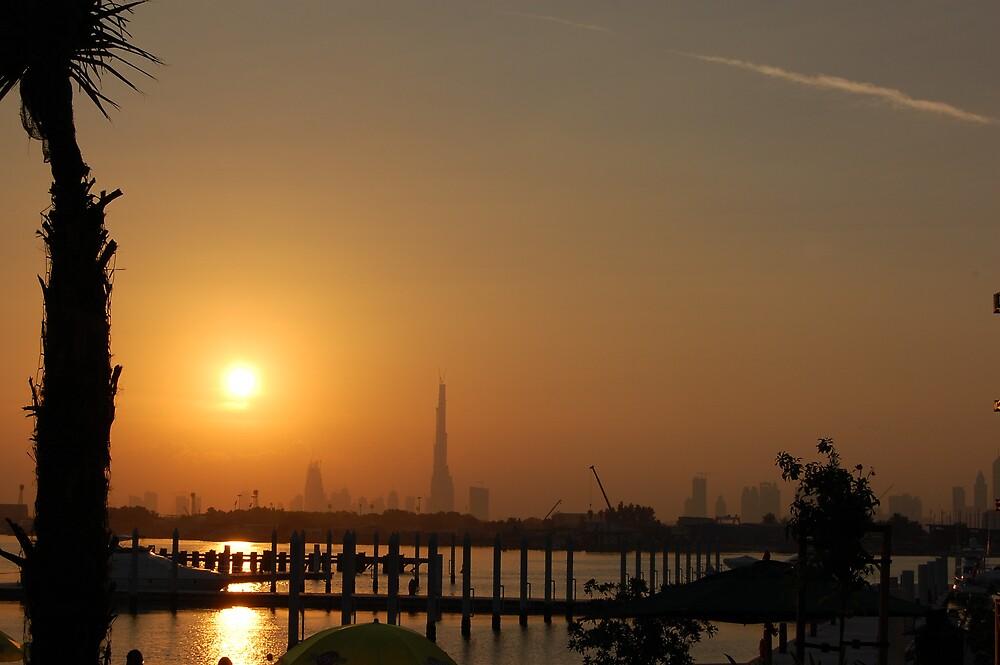 Sunset in Dubai... by Rey Mendoza