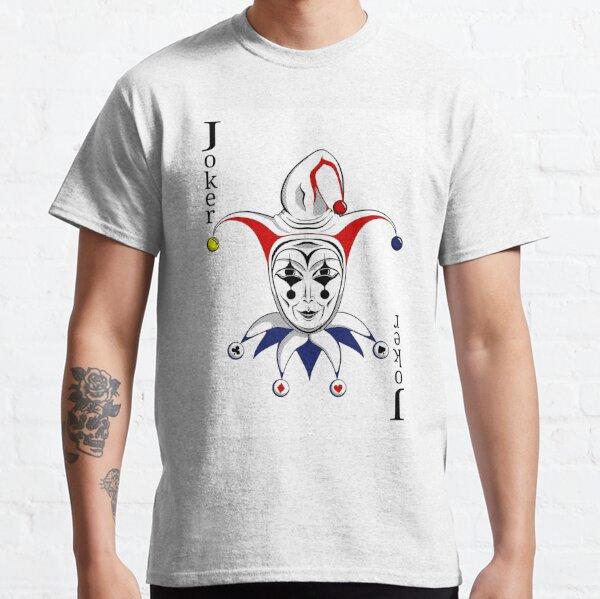 Joker Playing Card Classic T-Shirt