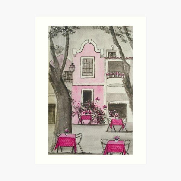 Rosa's Cafe Art Print