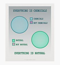 Everything is. Photographic Print