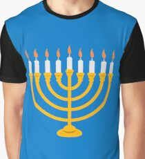 Menorah Graphic T-Shirt