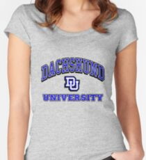 Dachshund University Women's Fitted Scoop T-Shirt