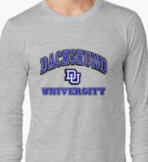Dachshund University Long Sleeve T-Shirt