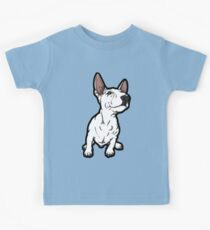 Smirking English Bull Terrier Puppy  Kids Clothes