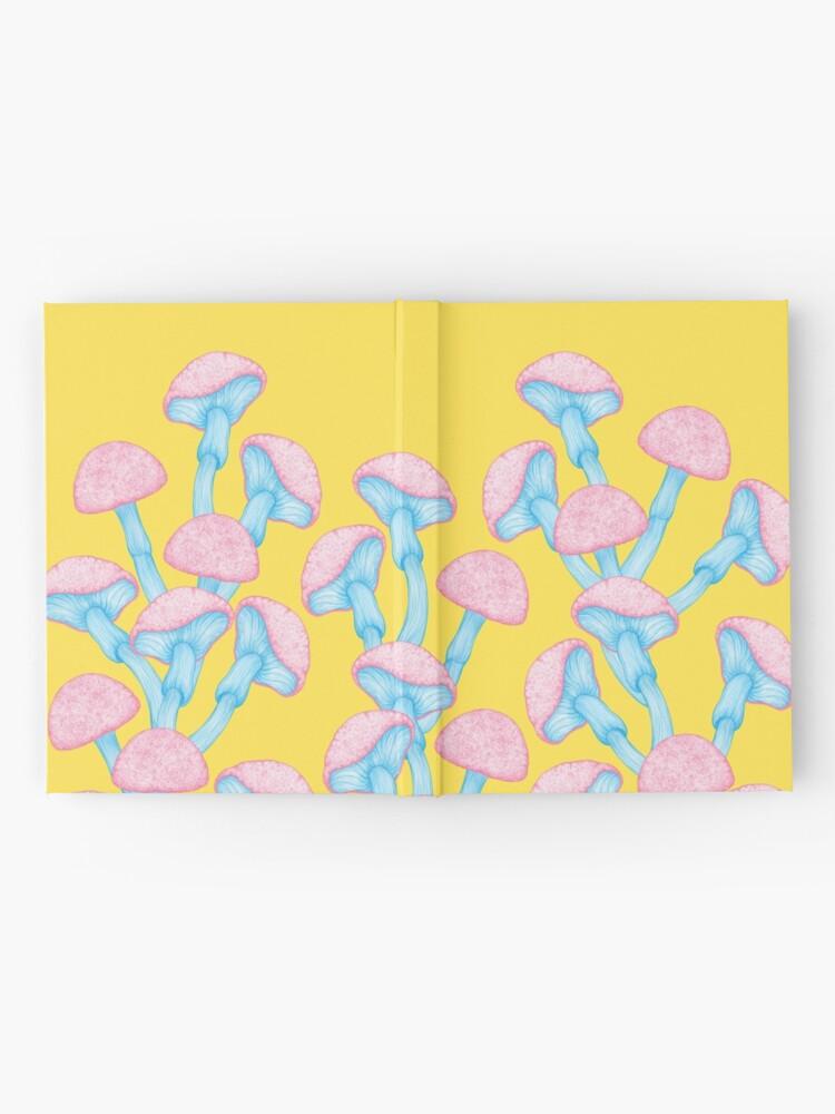 Alternate view of The Garden of Wonderland Mushroom Hardcover Journal