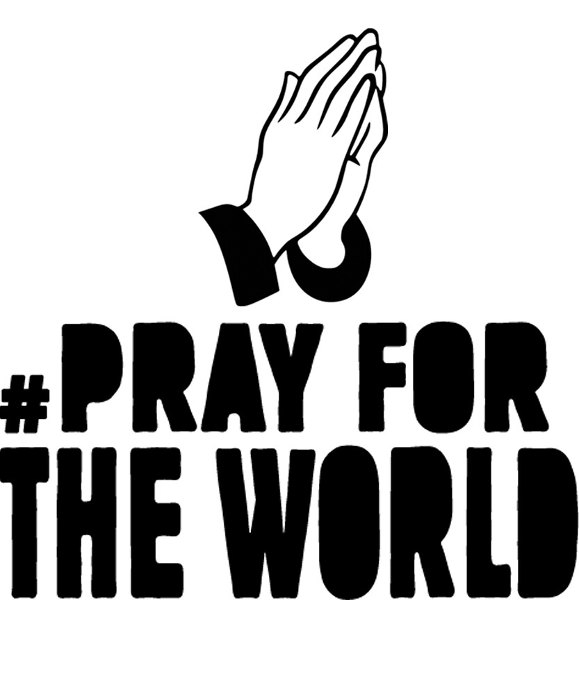 "Sehr Hashtag Pray For The World Pray For The Lost Lives Tshirt"" by  VN89"