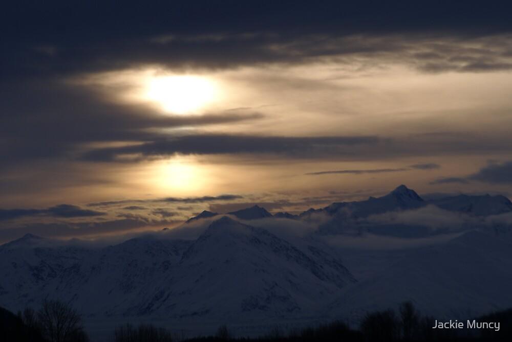 Sunrise over the Chugach Range by Jackie Muncy