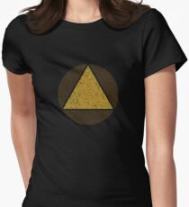 David's Shirt - Triangle in Circle (LEGION) Women's Fitted T-Shirt