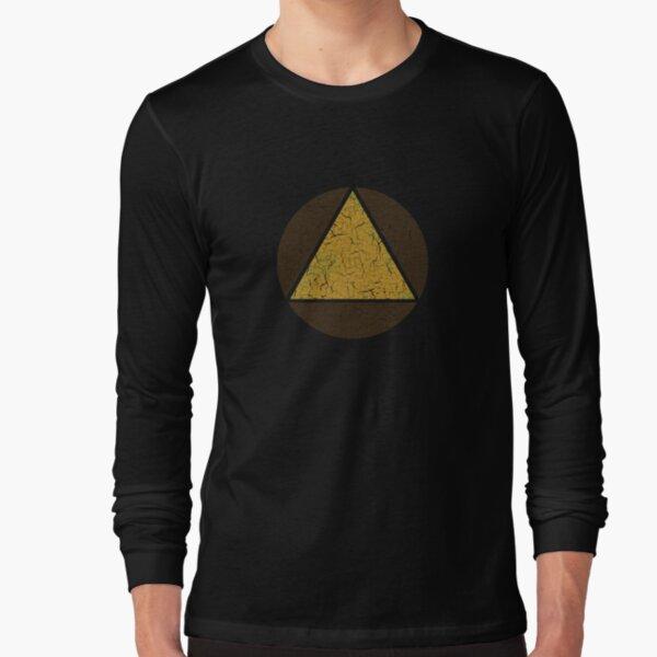 David's Shirt - Triangle in Circle (LEGION) Long Sleeve T-Shirt