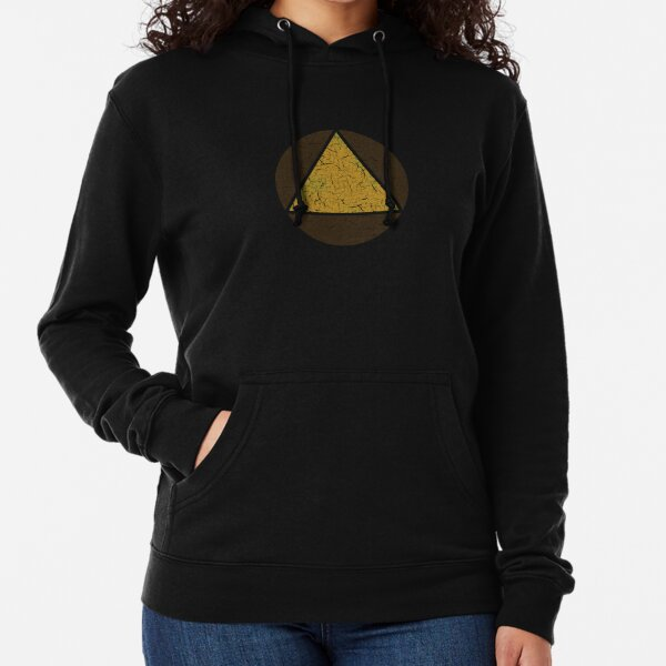 David's Shirt - Triangle in Circle (LEGION) Lightweight Hoodie
