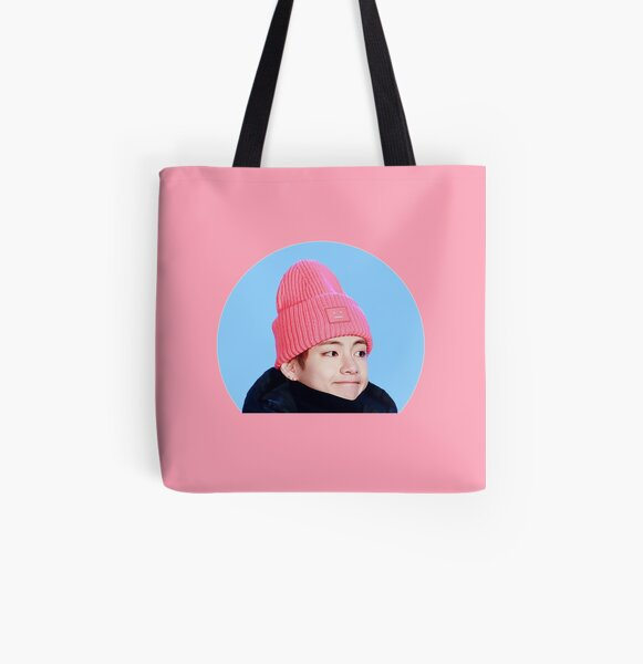 Taehyung All Over Print Tote Bag
