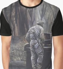 War in Chechnya Graphic T-Shirt