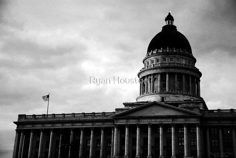 Utah State Capitol Building, Salt Lake City, UT by Ryan Houston