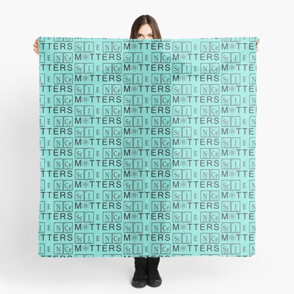 Science Matters Periodic Table  Scarf