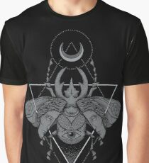 Occult Beetle Graphic T-Shirt
