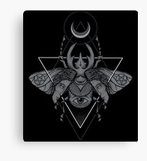 Occult Beetle Canvas Print