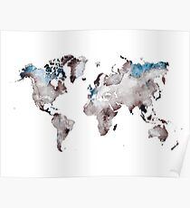 world map 73 Poster