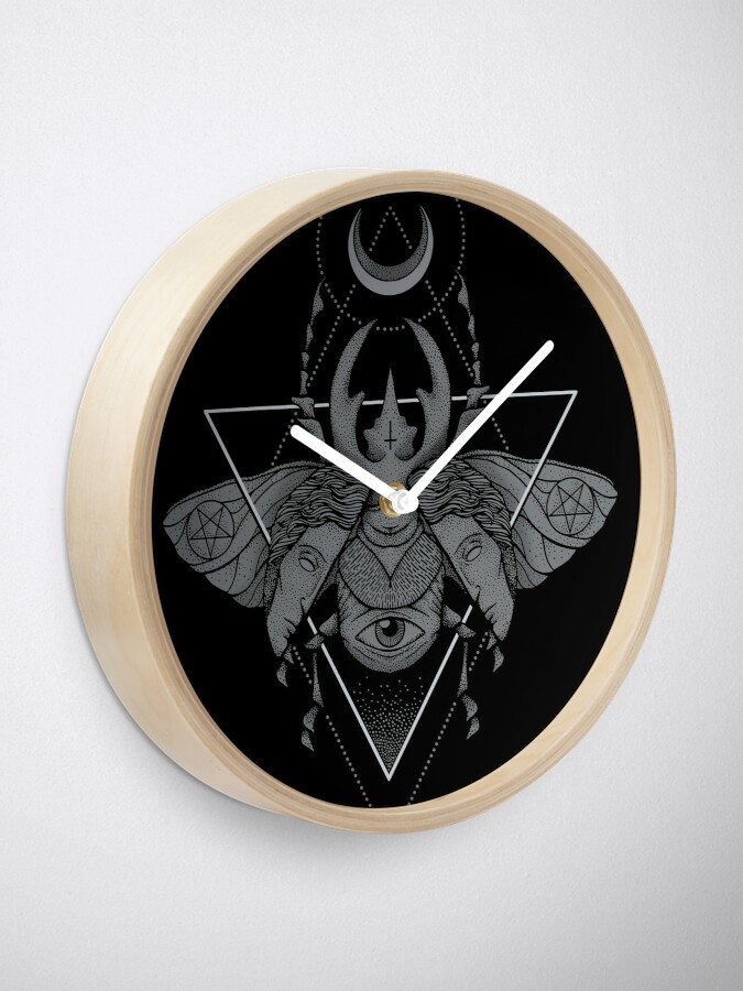 Alternate view of Occult Beetle Clock