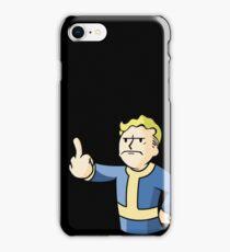 Vault boy #2 iPhone Case/Skin