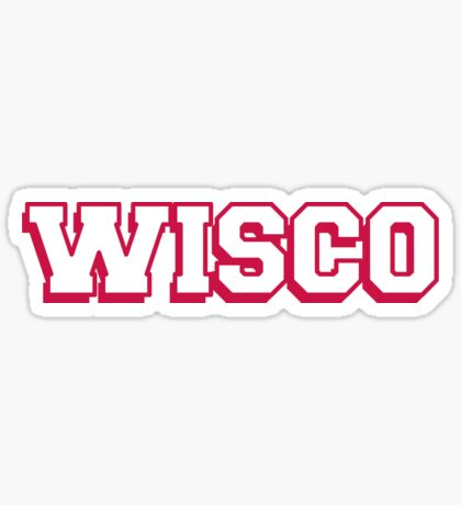 Wisconsin By Stickybad Redbubble