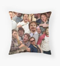 Andy Dwyer - Parks and Recreation Throw Pillow