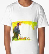 Calvin and Hobbes Summer Days Long T-Shirt
