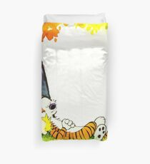 Calvin and Hobbes Summer Days Duvet Cover
