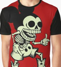 Skull mouse Graphic T-Shirt
