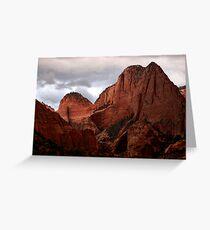 Kolob Canyon, Zion National Park, Utah Greeting Card