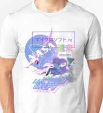 nasa dream vaporwave Ästhetik Unisex T-Shirt
