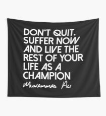 Be A Champion Wall Tapestry
